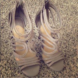 Gianni bini nude straps heels
